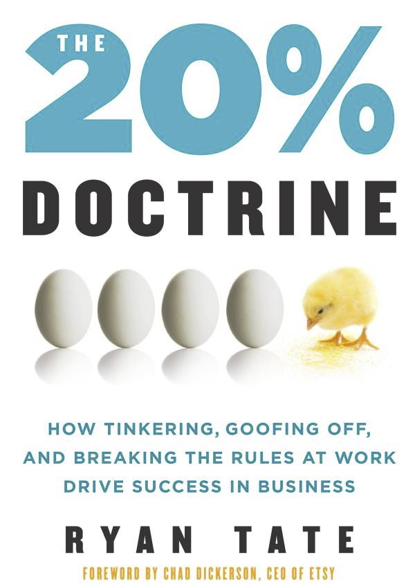 My book The 20 Perent Doctrine