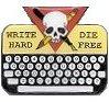 Write Hard, Die Free logo