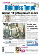 SF Business Times front page