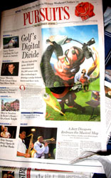 WSJ Pursuits section front